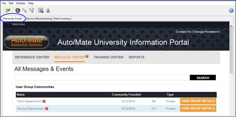CS-University-Portal